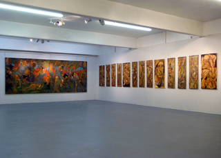 View of exhibition, Mark Strickland
