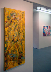 View of exhibition, Mark Strickland, Henrik Vardeniktsy