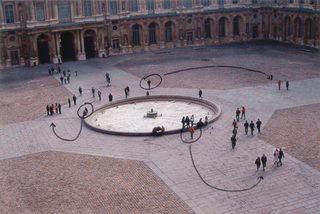 At the Louvre (Gamplans for Conversations), Dane Patterson