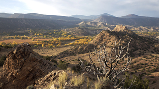 Chama River Valley / Abiquiu in the Fall, Walter W. Nelson