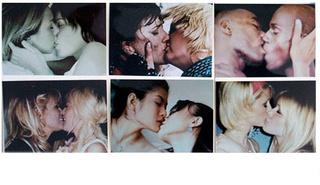 100 Kisses (Detail), Pat Place