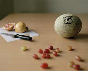 Still Life with Gucci Melon,Ting-Ting Cheng