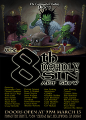 The 8th Deadly Sin Art Show,