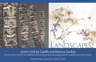 Conceptual Landscapes: recent work by Castillo and Mariana Garibay,