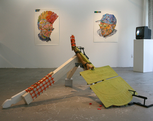 Installation View,Weston Teruya, Jonathan Burstein