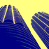 Marina_towers__digitally_enhanced_photograph__2002
