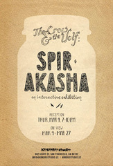Spir·akasha , The Crow & The Wolf