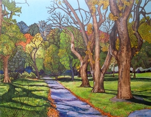 Path In Golden Gate Park, Tracy Stroder