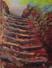 Well worn steps, Tom Henderson Smith