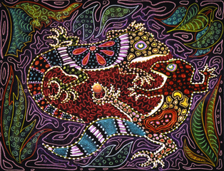 Jeweled Lizards,Jane Zich