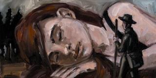 Der junge Philosoph - Die Gebärmutter schlafend im Wald, Carsten Weitzmann