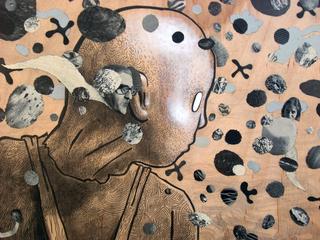 Urchin #19 (detail), D. Dominick Lombardi