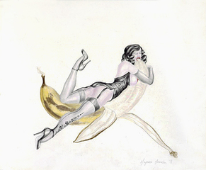 Banana Woman, Margaret Harrison