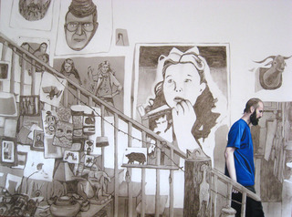 Eric Descending the Staircase, Allison Cortson