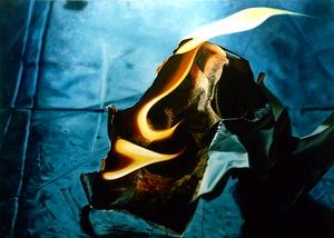 Paper_on_fire__2002__oil_2