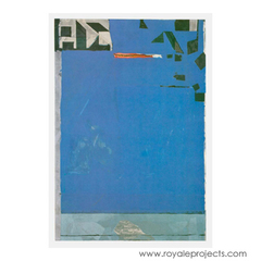 Blue with Red, Richard Diebenkorn