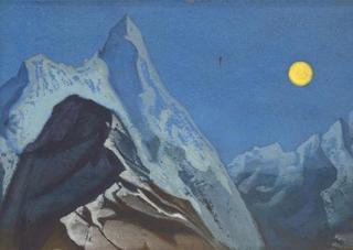Himalayan Landscape, Nicholas Roerich