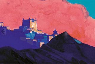 Monastery in Ladakh , Nicholas Roerich