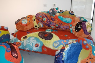 sofa, Gretchen Jankowski