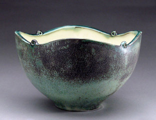 Bowl with Curving Rim , Charity Davis-Woodard