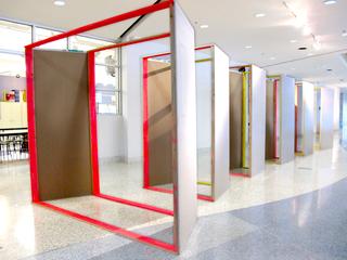 Un-vironment, I (Installation view), Charmaine Felix-Meyer