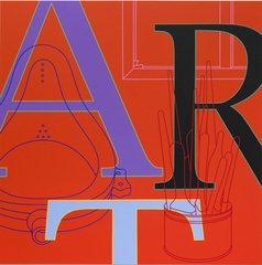 Art (red), Michael Craig-Martin