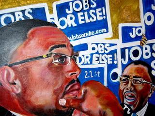 """Alderman Howard Brookins Jr, 21st Ward \'Jobs Or Else"""", Alpha Bruton"""