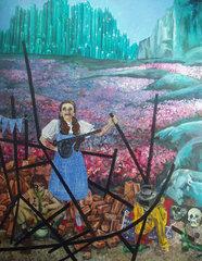 Partisan Dorothy, Dawn Mellor