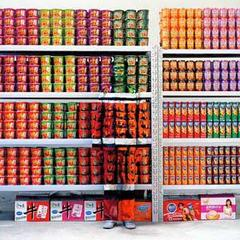 City Camouflage 83—Super Market,Liu Bolin