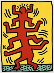 Growing I, Keith Haring
