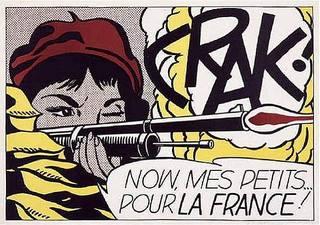 Crak!, Roy Lichtenstein