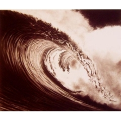 Wave, Robert Longo