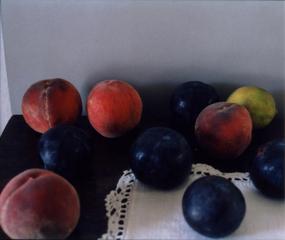 Pêches, prunes et citron. Santulussurgiu (1), Patrick Faigenbaum