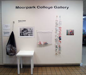 1,000 triangles for some peace from the good people of Moor Park College , Haruko Tanaka