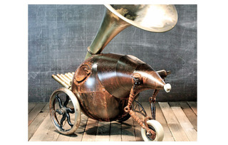 Three Wheeled Horn, Gregory Brotherton
