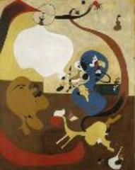 Dutch Interior II (Intérieur hollandais),Joan Miró