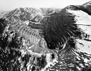 Barney's Canyon Gold Mine, Near Bingham Canyon, UT , Michael Light