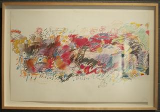 Original Pastel, Carlos Almaraz