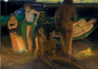 Scenes from a Private beach (The Women), Eric Fischl
