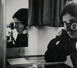 Self-Portrait in Mirrors,Ilse Bing