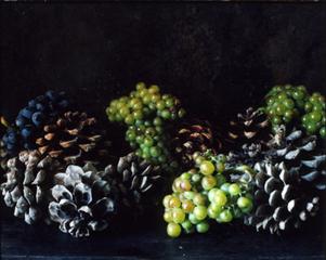 Raisin et pommes de pin, Patrick Faigenbaum