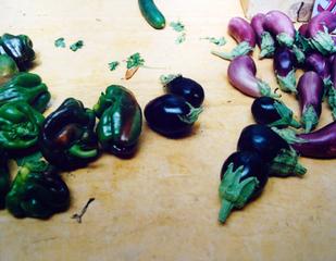 Poivrons et aubergines, Sérignan (1), Patrick Faigenbaum