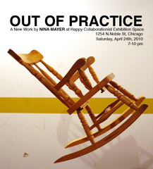 Out of Practice Flyer, Nina Mayer