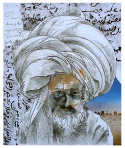 Nice_turban____mixed_media_monotype_april_2010