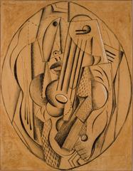 Cubist Composition, Diego Rivera