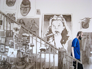 Eric Descending the Staircase, 2009, Allison Cortson