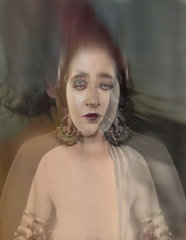 Delusional Identity: Self-portrait 4, Colette Sowege