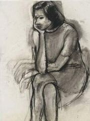 Seated Woman, Head in Hand, Richard Diebenkorn
