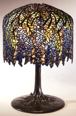 Wisteria Library Lamp, Louis Comfort Tiffany