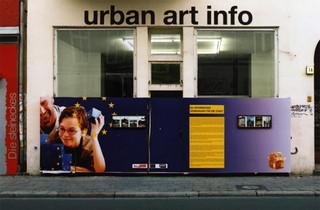 """Installation """"Gemeinsam für die Stadt"""", Jan Danebod"""